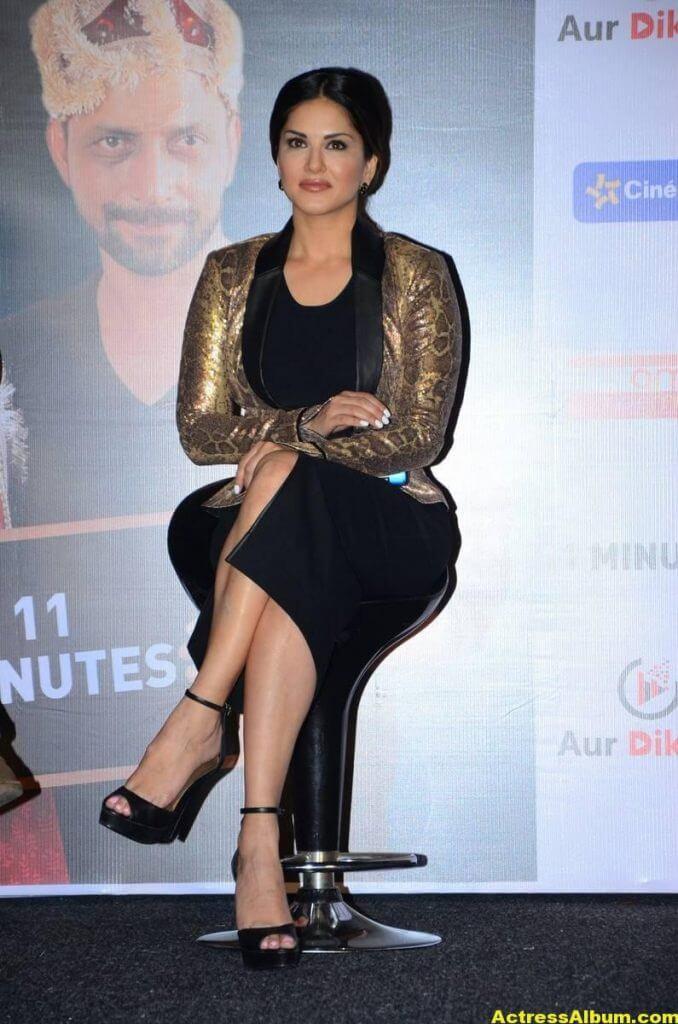 Sunny Leone Latest Hot Legs Showing Photoshoot 4