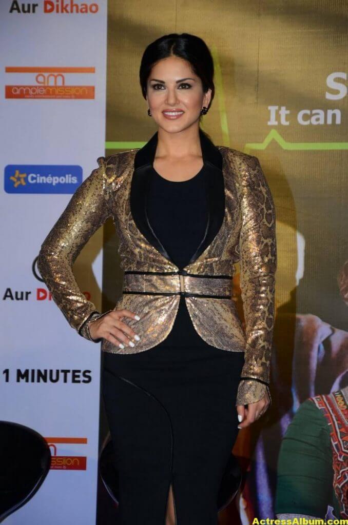 Sunny Leone Latest Hot Legs Showing Photoshoot 5