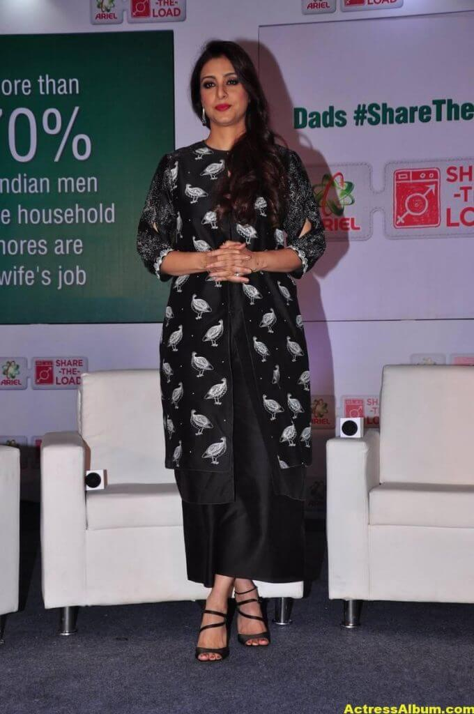 Tabu Latest Hot Stills In Black Dress (1)