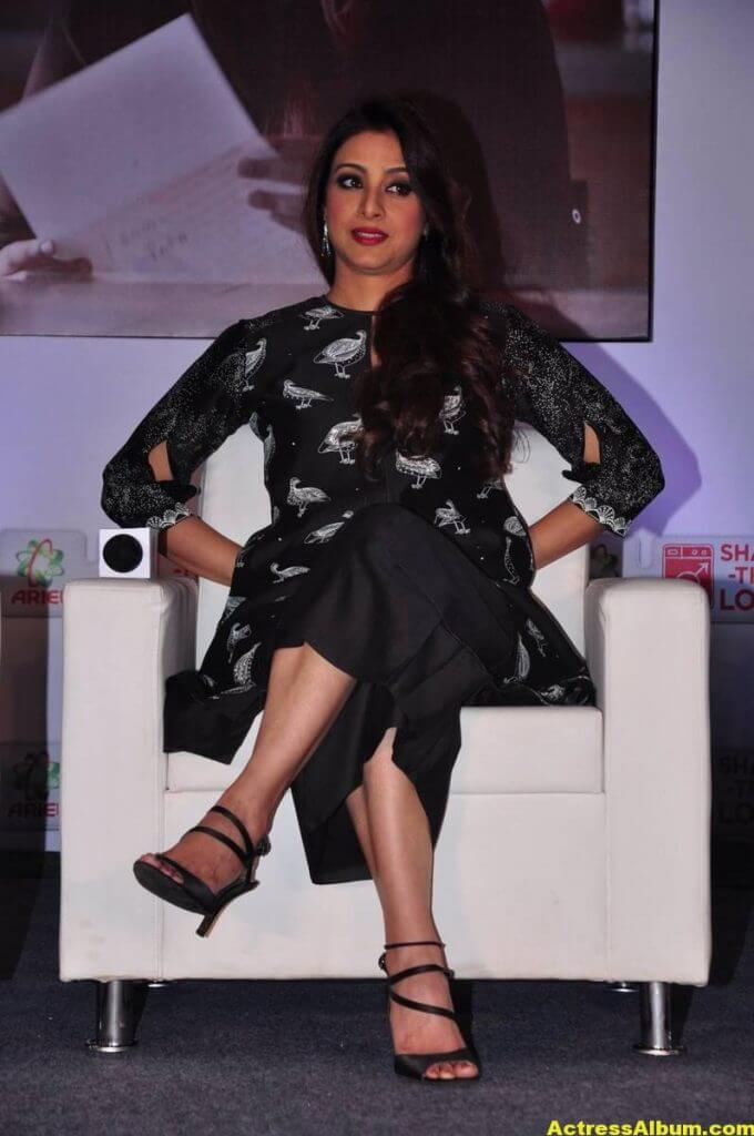 Tabu Latest Hot Stills In Black Dress (7)