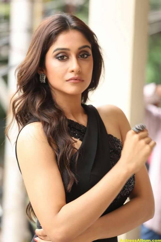 Tamil Actress Regina Cassandra Hot Photos In Black Dress 2