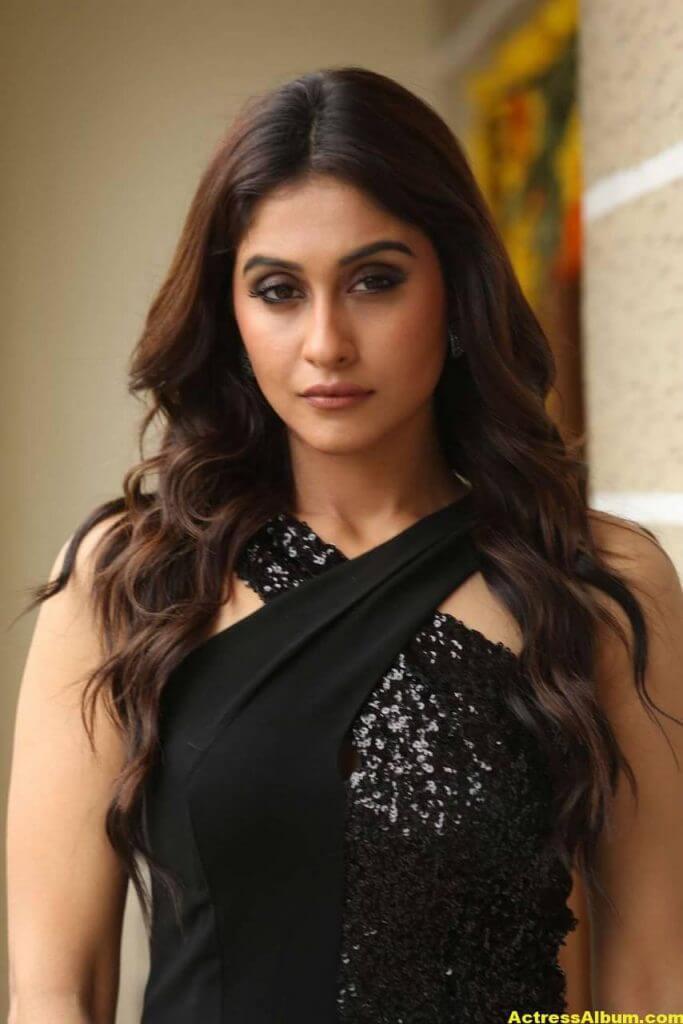 Tamil Actress Regina Cassandra Hot Photos In Black Dress 6