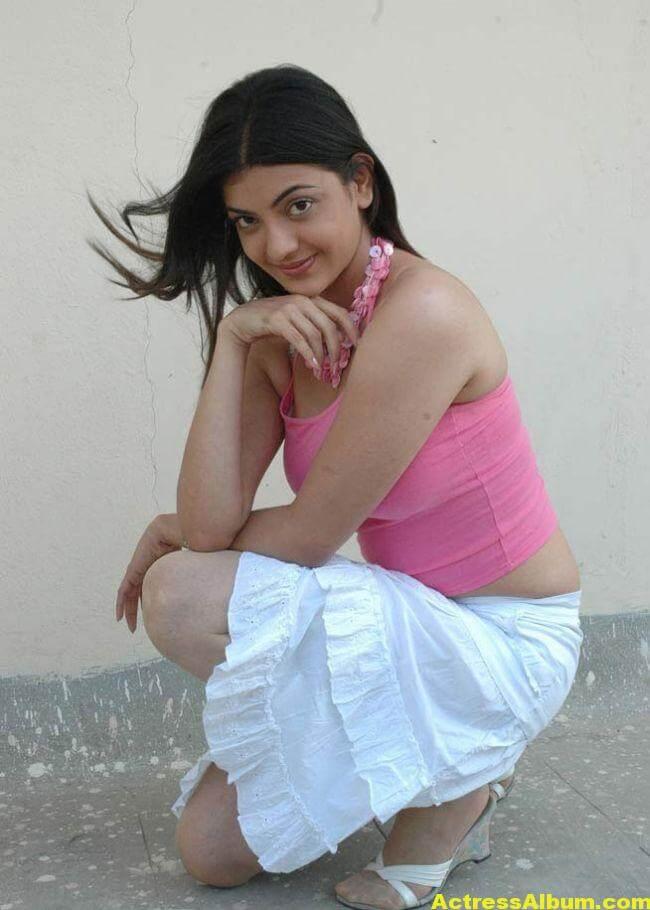 Kajal Agarwal Photos in Pink Dress 5