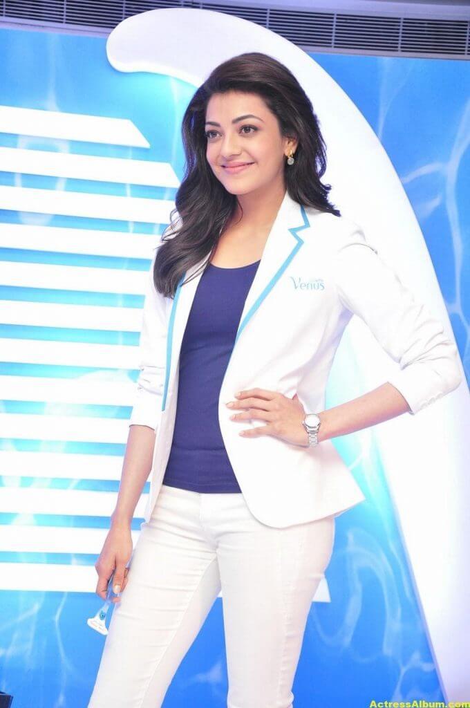 Kajal Aggarwal Latest Photos In White Shirt (3)