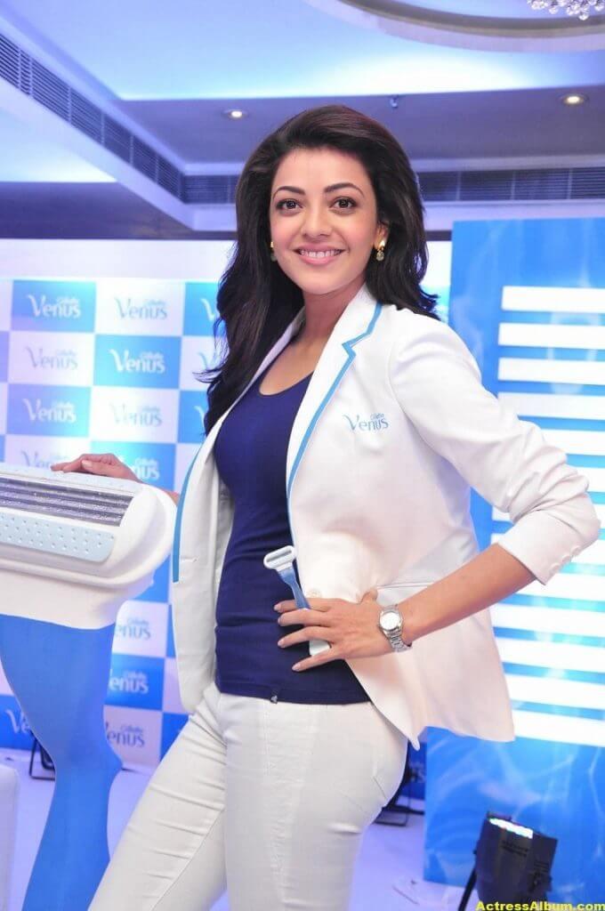 Kajal Aggarwal Latest Photos In White Shirt (6)