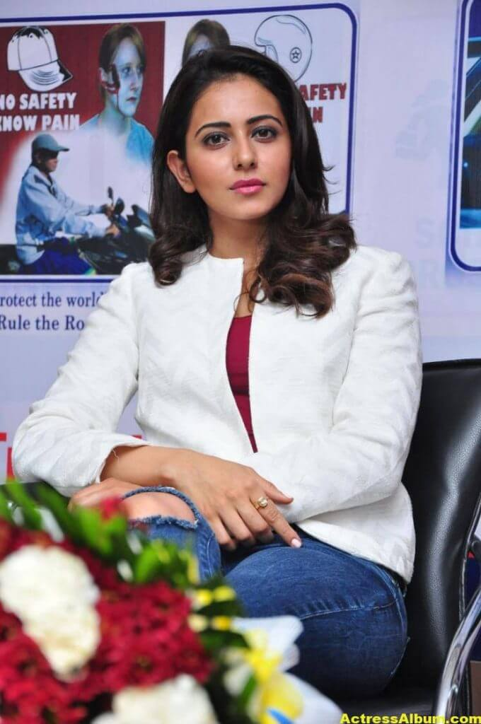 Rakul Preet Singh Photos At Traffic Awareness Show 6