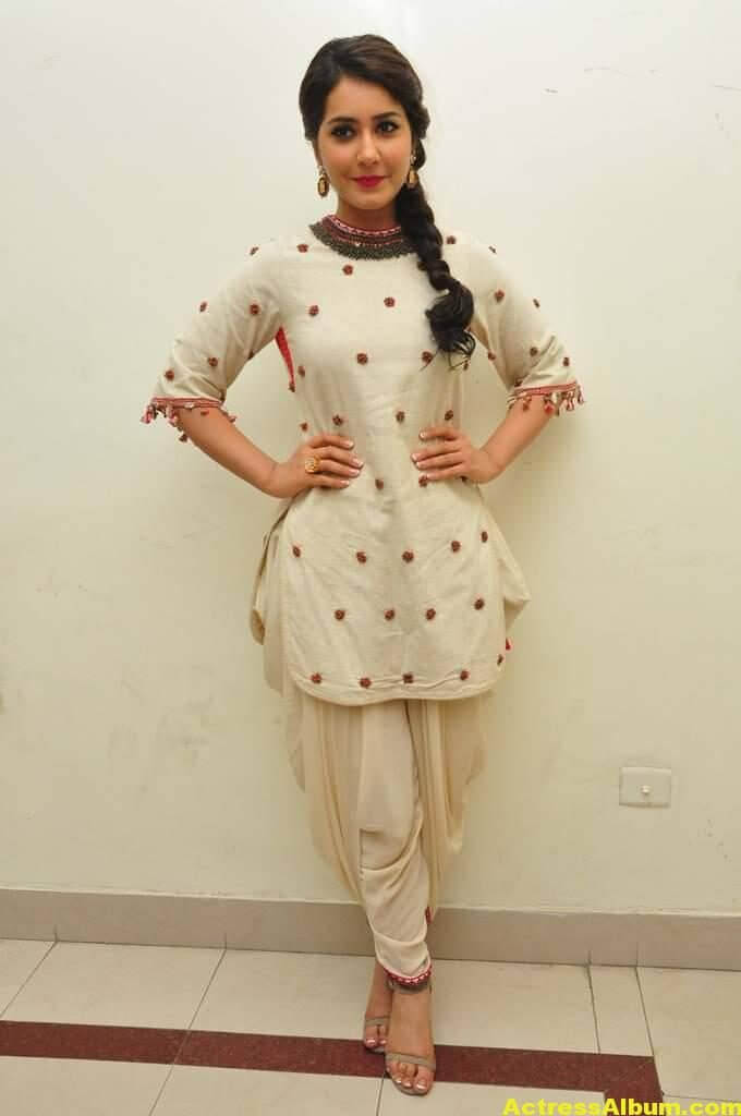 Rashi Khanna In White Dress 4