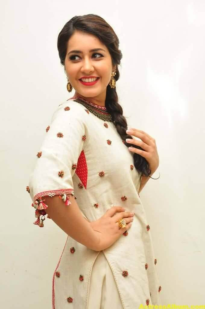 Rashi Khanna In White Dress 6