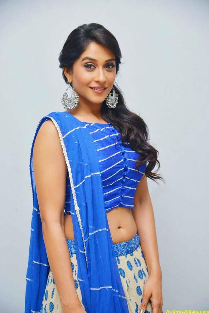 Regina Hot Photos In Blue Dress 3