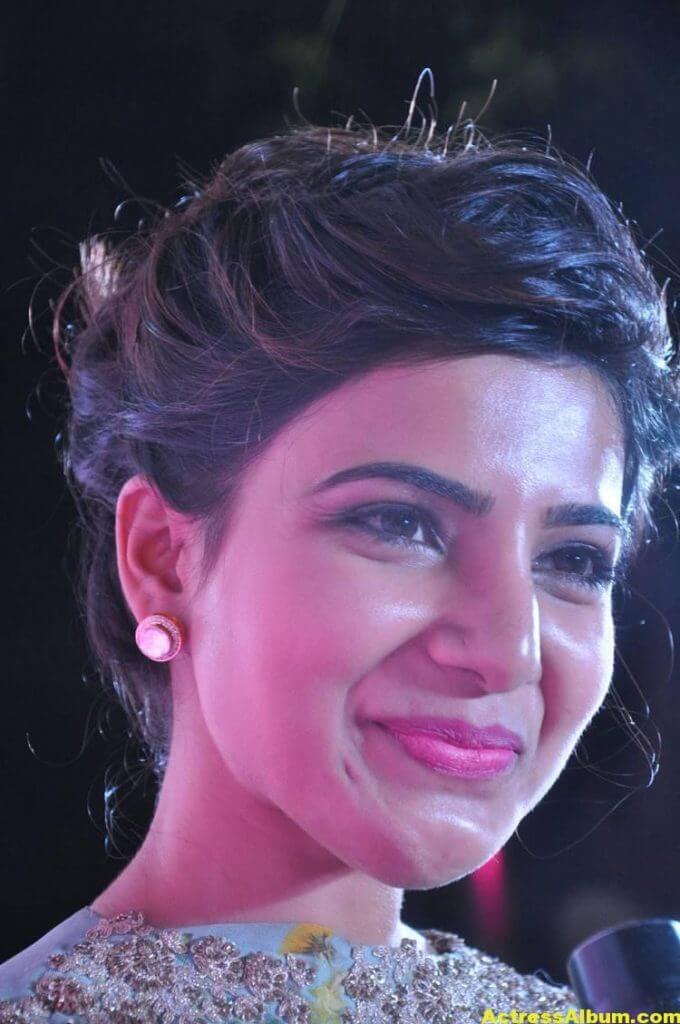 Samantha Smiling Face Close Up Images (1)