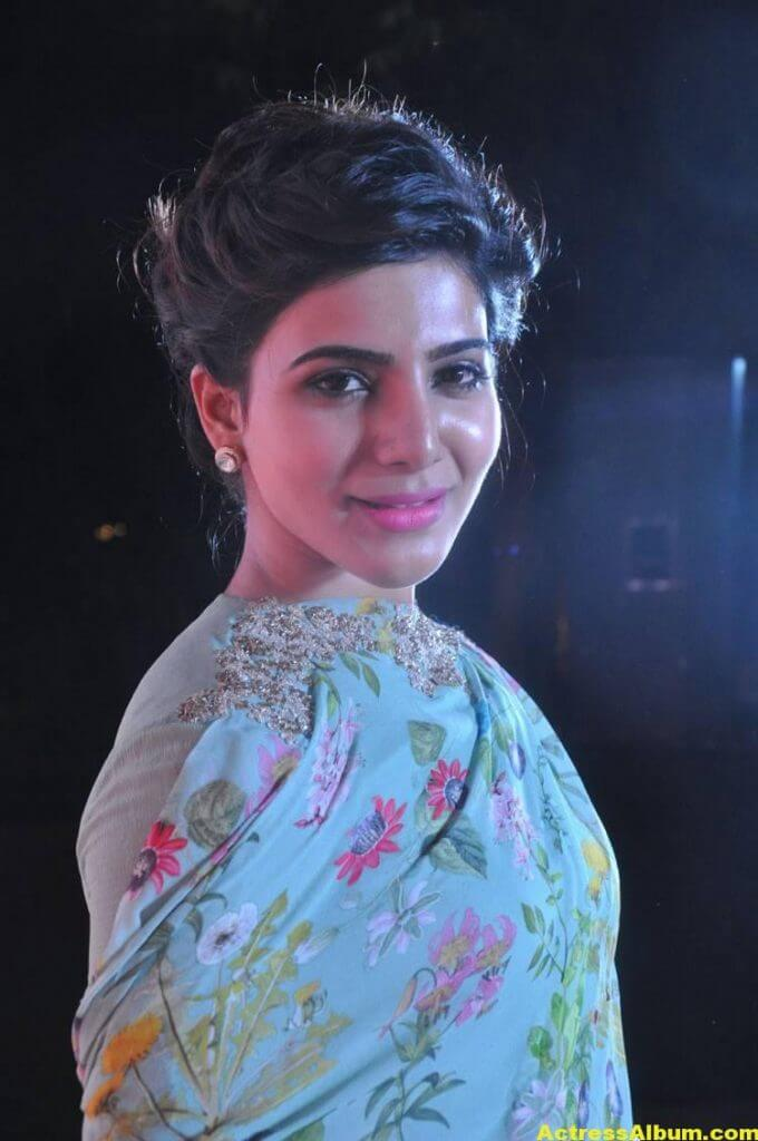 Samantha Smiling Face Close Up Images (6)