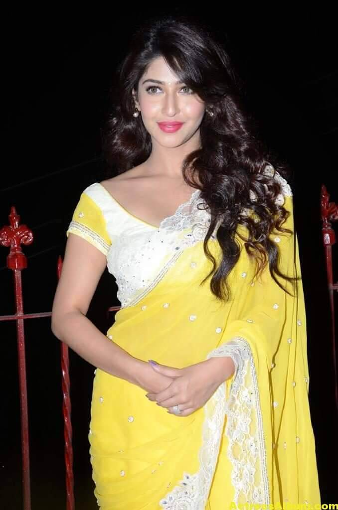Sonarika Latest Images In Yellow Saree 3