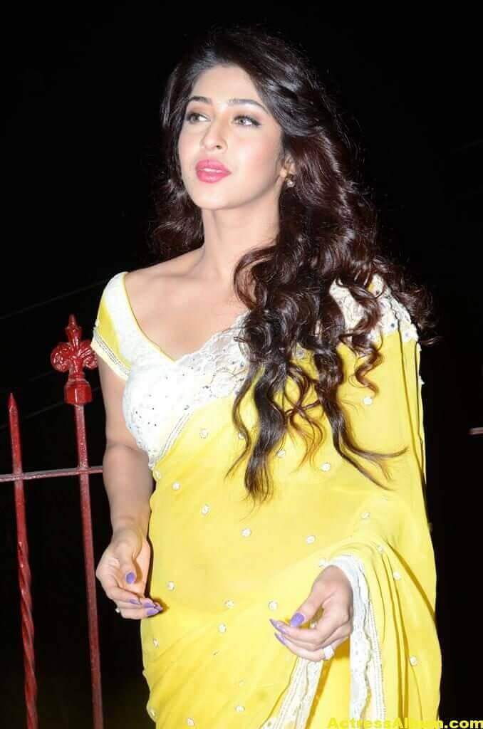 Sonarika Latest Images In Yellow Saree 4