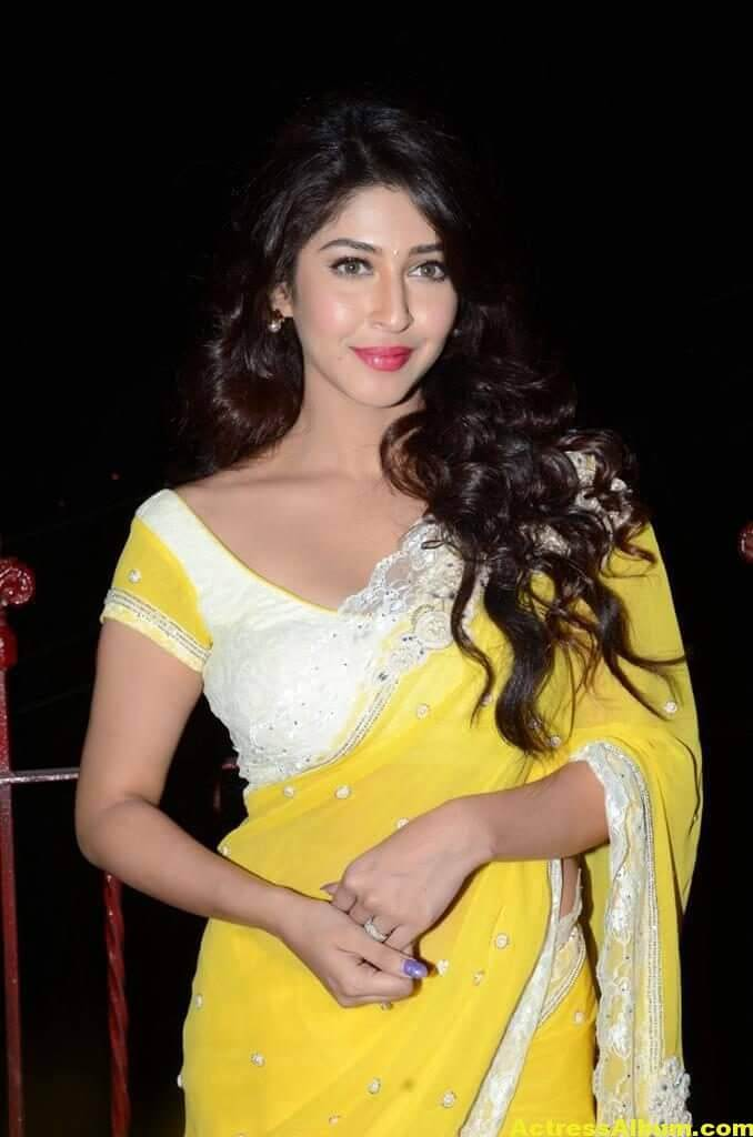 Sonarika Latest Images In Yellow Saree 5