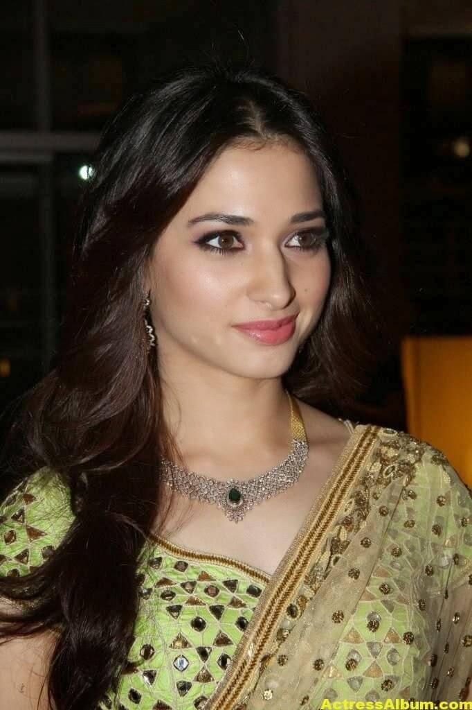 Tamanna Gorgeous In Saree Stills 7
