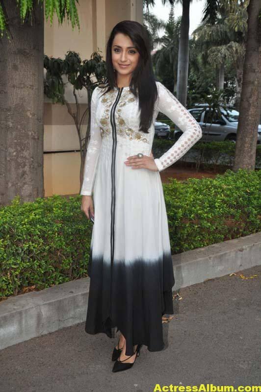 Tamil Actress Trisha Face Close Up Photos 6