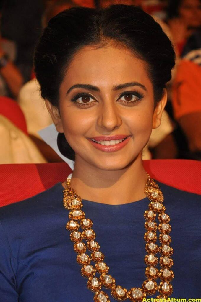 Rakul Preet Latest Photos At Nannaku Prematho Audio Launch (4)