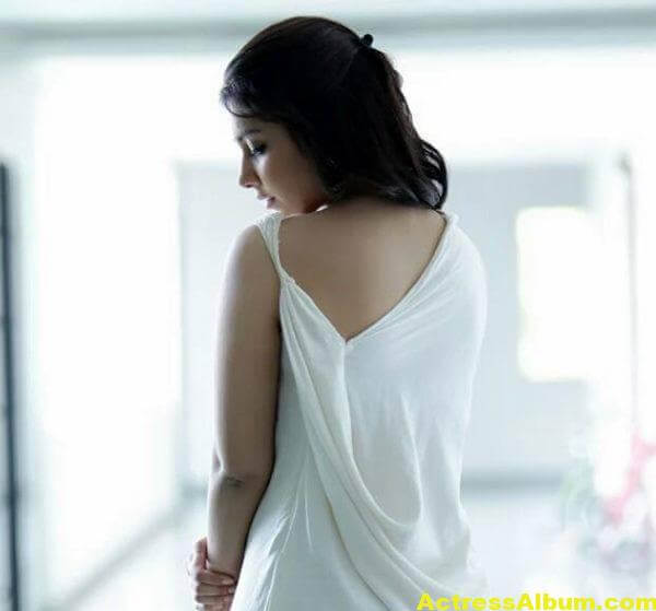 Rashi Khanna Latest Photoshoot In White Dress (3)