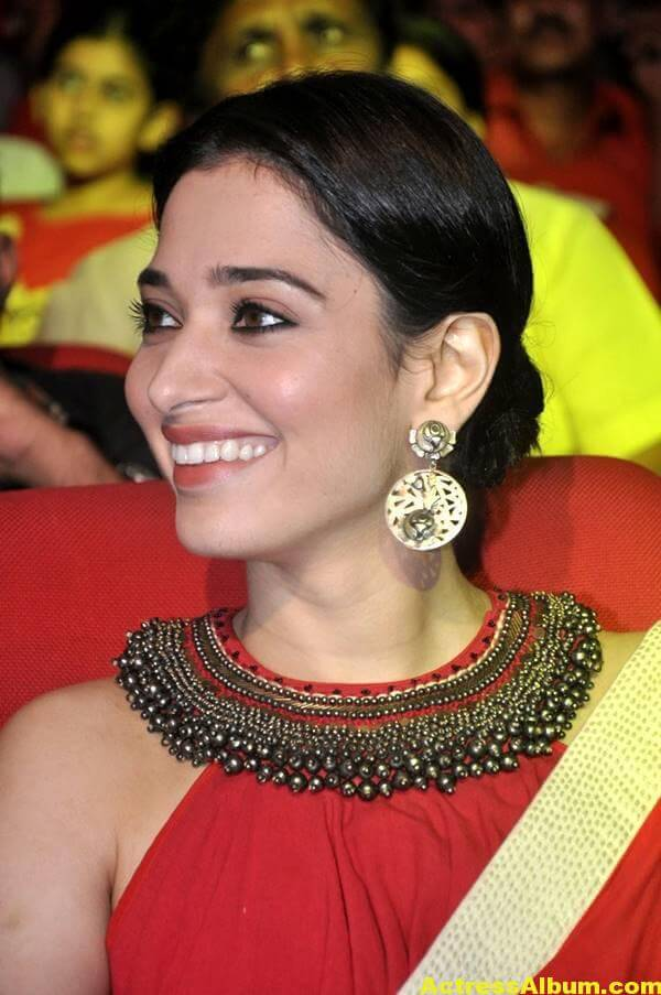 Tamanna Latest Hot Photos In Orange Saree 1