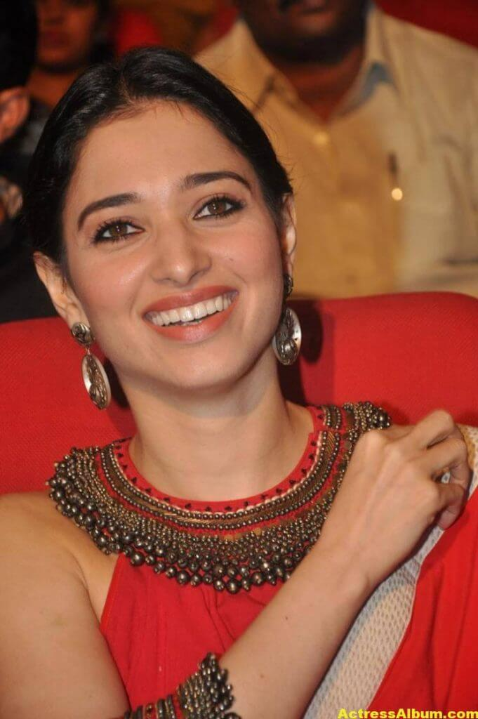 Tamanna Latest Hot Photos In Orange Saree 3