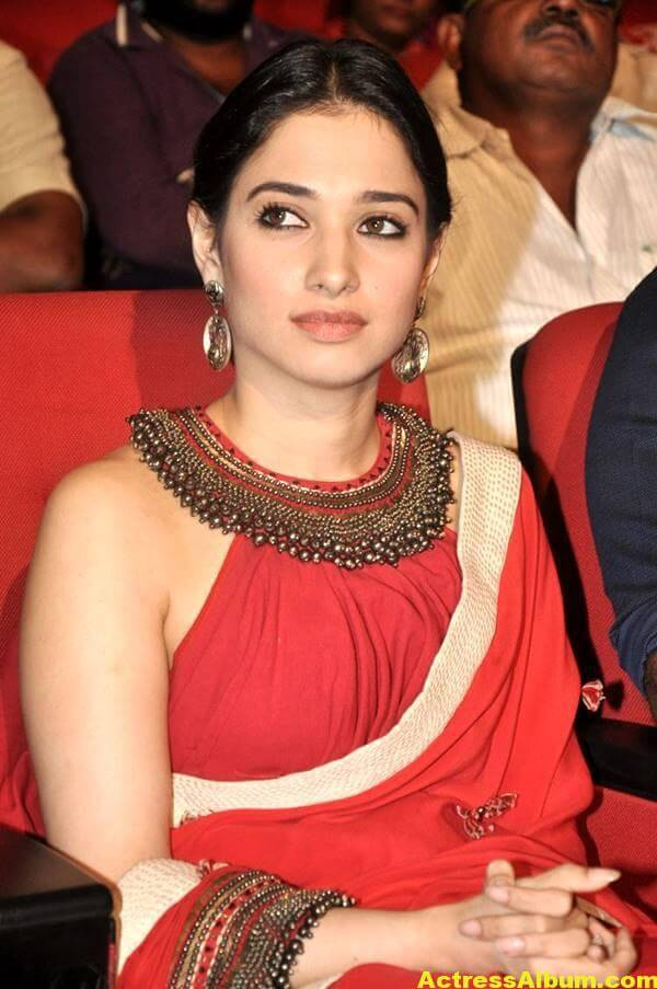 Tamanna Latest Hot Photos In Orange Saree 6