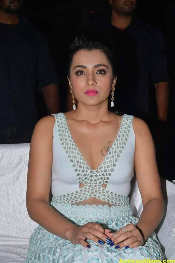 Trisha Latest Hot Photos In White Dress 9