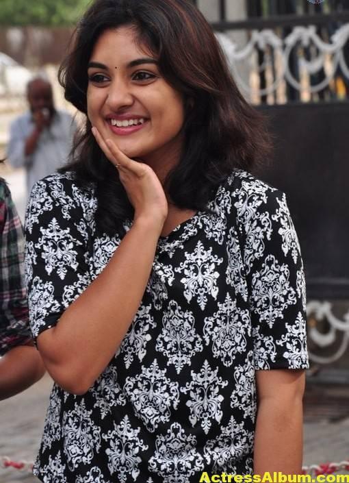 Actress Niveda Thomas Photos In Black Dress 1