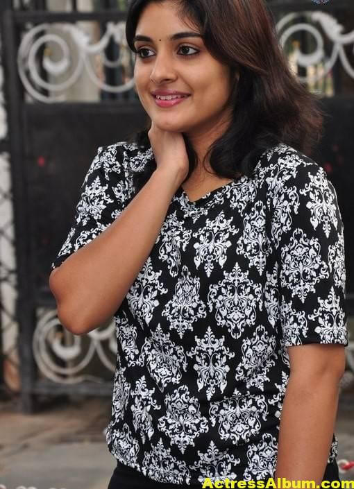 Actress Niveda Thomas Photos In Black Dress 2