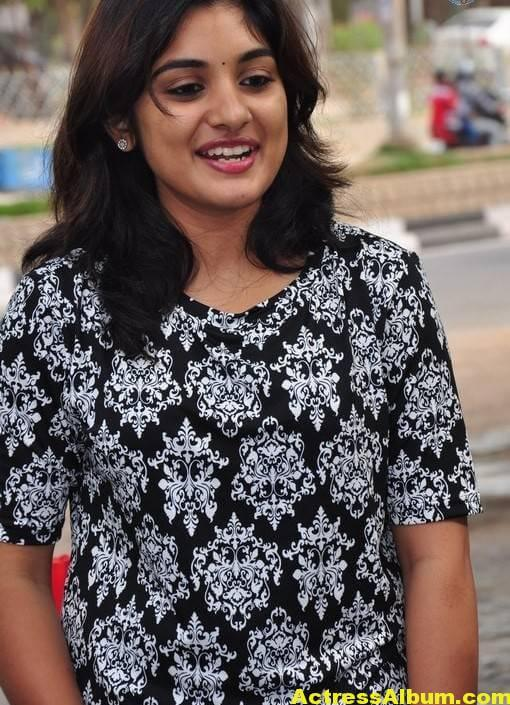 Actress Niveda Thomas Photos In Black Dress 3