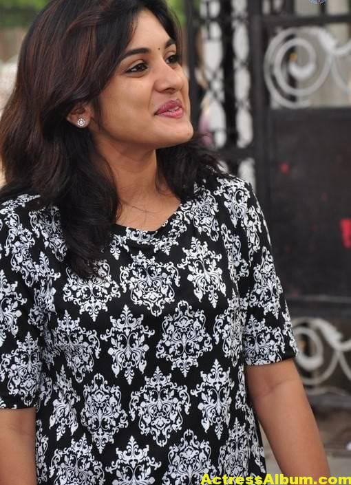 Actress Niveda Thomas Photos In Black Dress 4