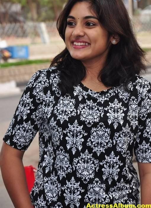 Actress Niveda Thomas Photos In Black Dress 5