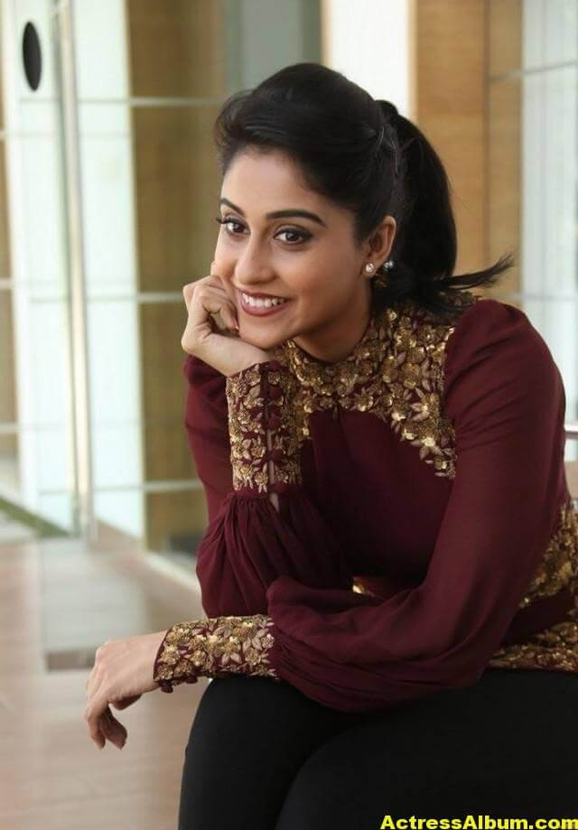 Actress Regina Cassandra Cute Photos In Ponytail 7