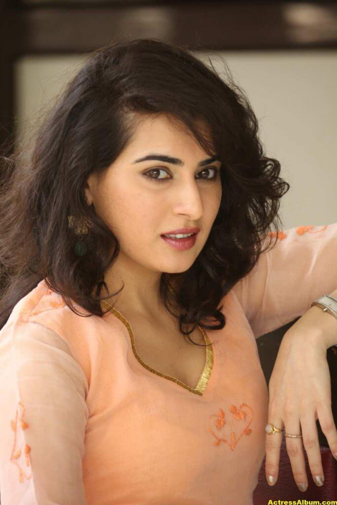 Archana Veda Hot Photos In Pink Dress 0
