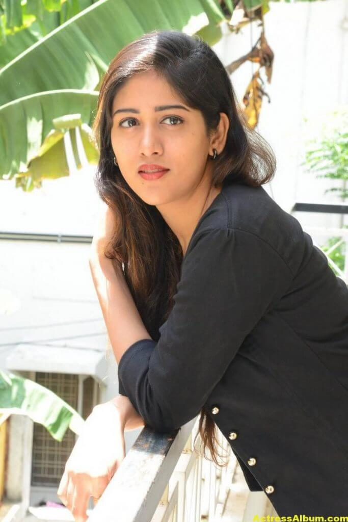 Chandini Chowdary Photos In Black Dress (0)