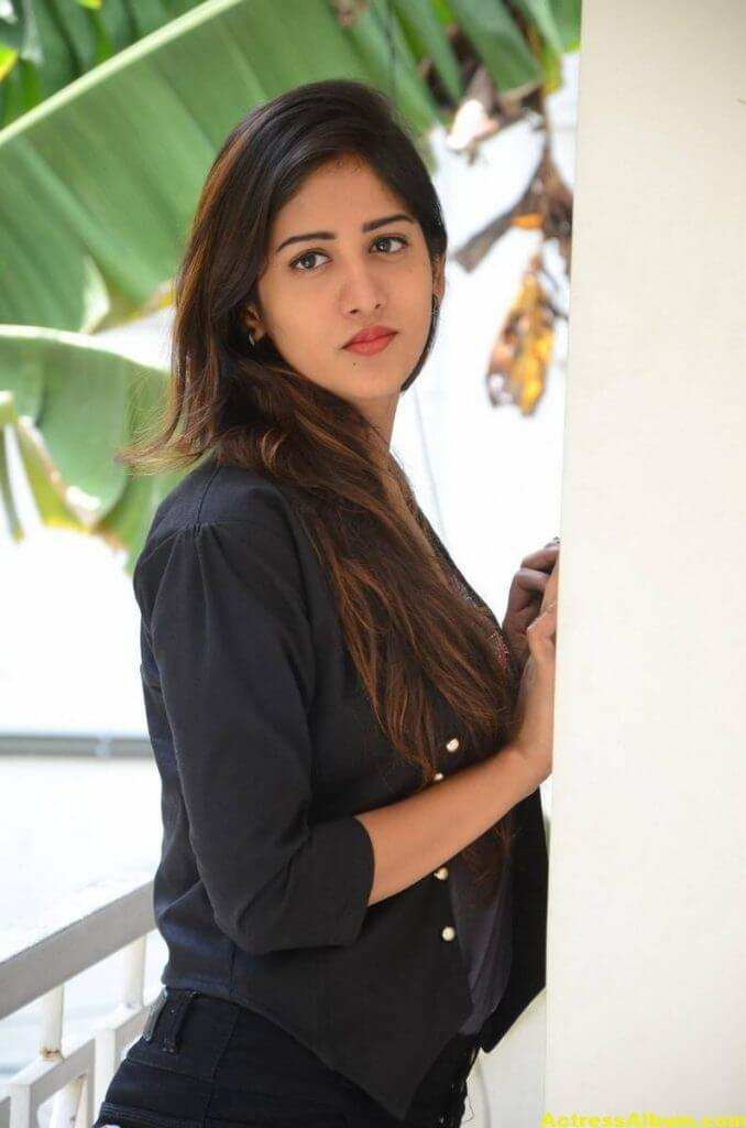 Chandini Chowdary Photos In Black Dress (3)