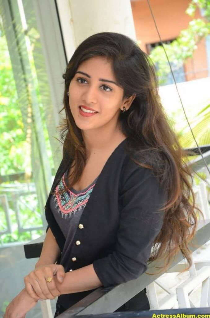 Chandini Chowdary Photos In Black Dress (4)