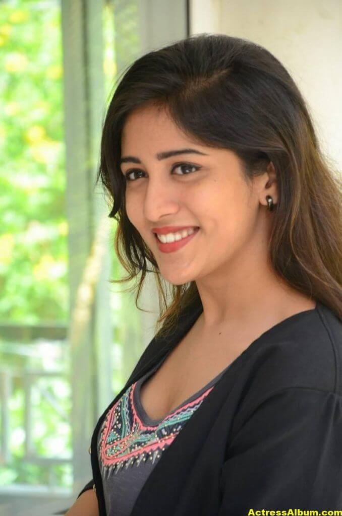 Chandini Chowdary Photos In Black Dress (5)