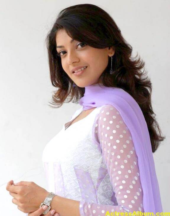 Cute Kajal Agarwal In White Dress 2