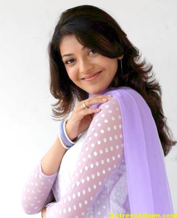 Cute Kajal Agarwal In White Dress 3