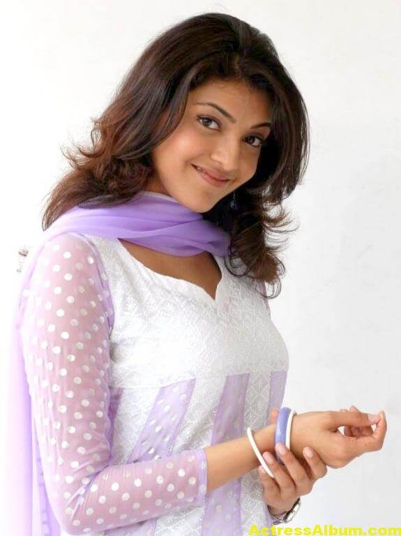 Cute Kajal Agarwal In White Dress 4