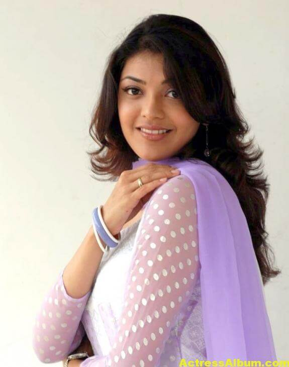Cute Kajal Agarwal In White Dress 5