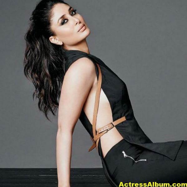 Glamorous Kareena Kapoor Hot Photos In Black Dress (2)