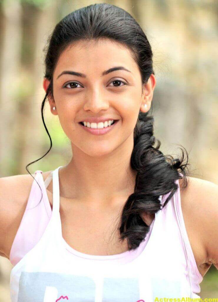 Kajal Agarwal Photos In Jogging Dress White 1