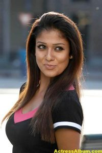 Nayanthara In Black & Blue Cute (1)