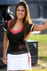 Nayanthara In Black & Blue Cute (10)