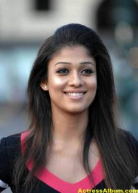 Nayanthara In Black & Blue Cute (11)