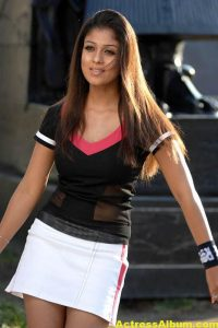 Nayanthara In Black & Blue Cute (12)
