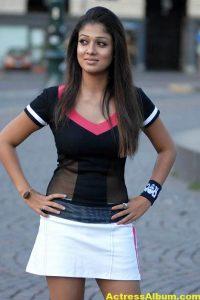 Nayanthara In Black & Blue Cute (13)