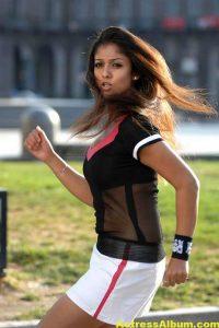 Nayanthara In Black & Blue Cute (14)