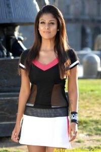 Nayanthara In Black & Blue Cute (7)